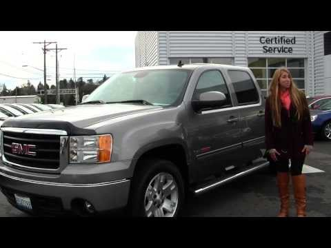 Virtual Walk Around Tour Of A 2008 GMC Sierra SLT At Gilchrist Chevrolet Buick GMC In Tacoma, WA Gt3