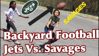 Backyard Football Jets Vs. Savages