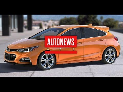Chevrolet представила хэтчбек Cruze нового поколения