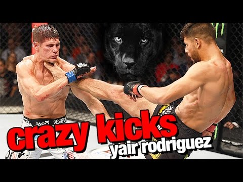 Yair Rodriguez All Crazy Kicks In MMA
