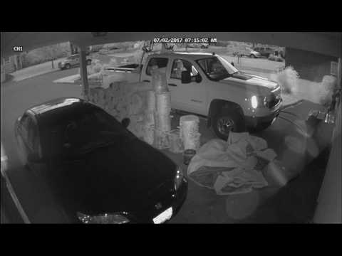 Prince George - Theft from Truck Caught on Surveillance, Suspects Sought