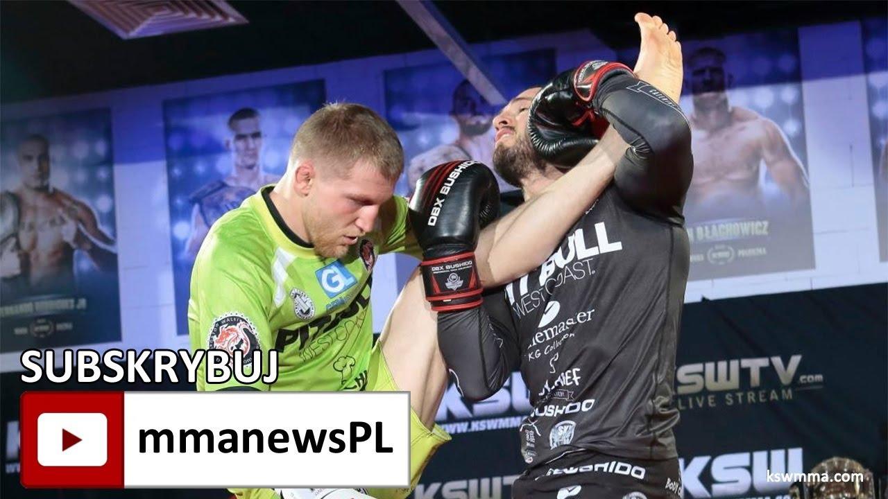KSW 41: Borys Mańkowski vs Łukasz Rajewski na media treningu