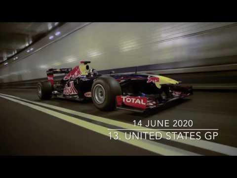 2020 F1 Season Calendar