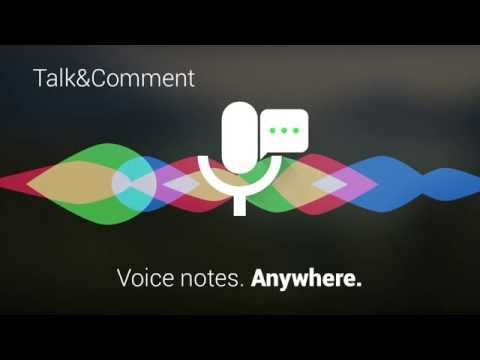 Talk&Comment - Voice Notes anywhere (Chrome Tutorial)