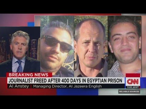 Al Jazeera journalist released from Egyptian prison