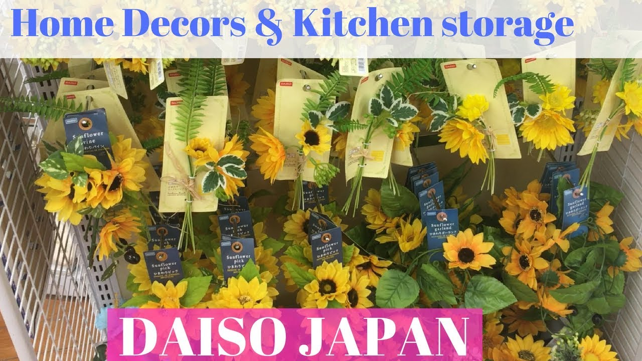Huge Daiso Japan Home Decors Organization Products Kitchen Stuff More Youtube