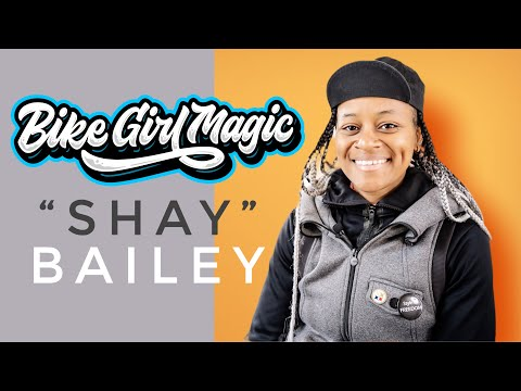 "BIKE GIRL MAGIC - ""SHAY"" BAILEY @ WAX WING CYCLES (4K)"