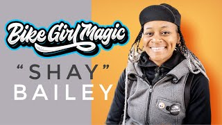BIKE GIRL MAGIC: Episode 1 - SHAY BAILEY @ WAX WING CYCLES (4K)
