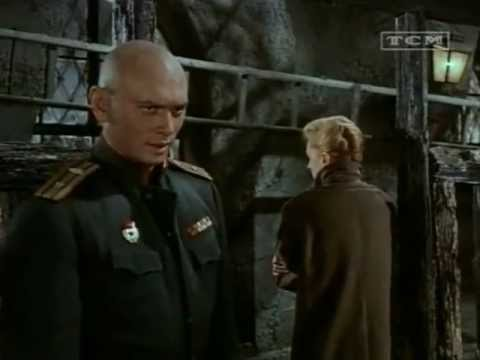 "Yul Brynner and Deborah Kerr in ""The Journey"" (Kiss Scene)"