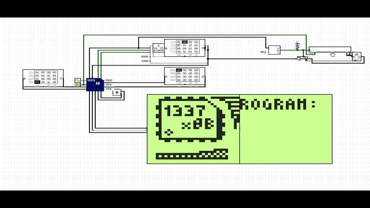 Logisim Cpu Rev B Here Is A Logicsim Circuit File Implementing Full Adder Click