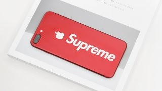 RED Apple iPhone 7 Plus Supreme Edition?