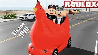 Tavuk Arabası Aldık!! Acayip Hızlı Gidiyor - Panda ile Roblox Pacifico 2
