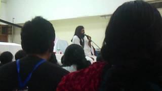 Rishi NityaPragya Singing Yeh Tera Zikr Hai