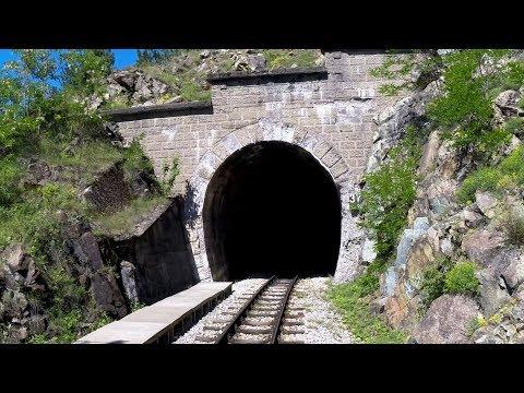 Sargan Eight Railway -  Driver's Eye View at 5 x Speed