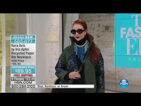 HSN | Rara Avis by Iris Apfel Jewelry 5th Anniversary 09.27.2016 - 07 PM