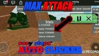 COME OTTENERE L'ATTACCO MAX SU ROBLOX DRAGON BALL RAGE (AUTO CLICKER)!!!