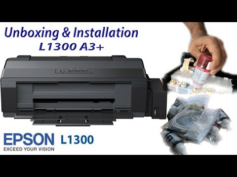 epson-l1300-a3+-ink-tank-printer-installation-review