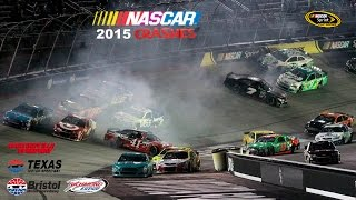 2015 NASCAR Cup Crashes (Martinsvile- Richmond)