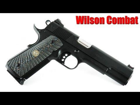 Wilson Combat CQB 1911 100 Yard First Shots