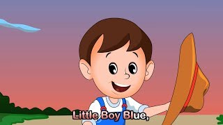 Little Boy Blue with lyrics - Lullabies & Nursery Rhymes by EFlashApps