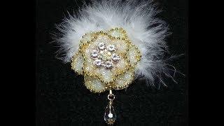 DIY~Make Gorgeous Fake Beadwork Craft Project Embellishments! Easy!