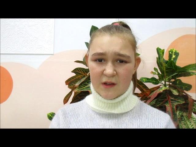 Изображение предпросмотра прочтения – ПолинаАрыкова читает произведение «Песнь о собаке» С.А.Есенина