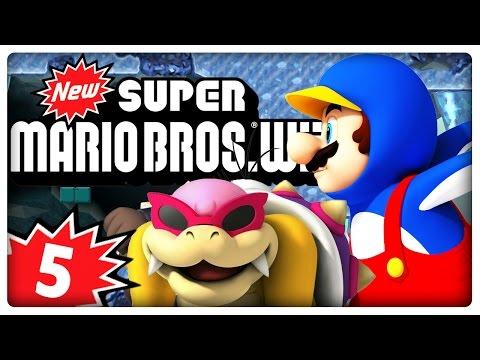 NEW SUPER MARIO BROS. Wii Part 5: Rutschpartien mit Pinguin-Mario