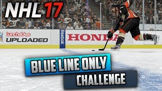Can I Win a Game by Shooting Behind the Blue Line Only? (NHL 17 Challenge)