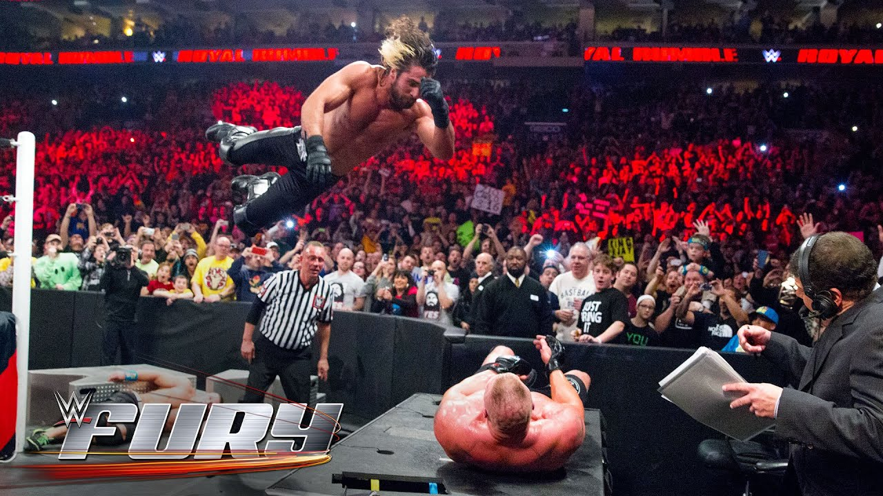 Just Do It Later 19 Elbow Drops That Smashed Tables: Wwe Fury - Youtube