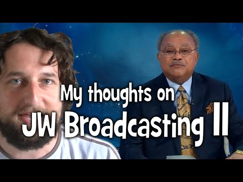 My thoughts on JW Broadcasting 11, with Sam Herd (tv.jw.org) - Cedars' vlog no. 87