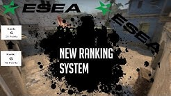 ESEA`s new Ranking System explained