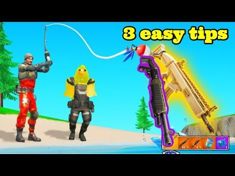HOW TO GET GOLD GUNS FROM FISHING IN FORTNITE CHAPTER 2/ Fortnite Fishing Rod LOOT