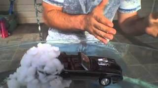 How to Create a Burn out Effect for your Model Car Slide Show or Diarama