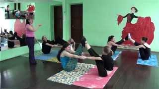 Растяжка в хореографии для детей от 7 до 10 лет