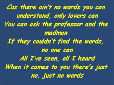 No Words (Official Lyric Video) By The Script