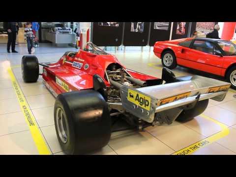 Museo Ferrari Maranello-Sergio Pininfarina exposure