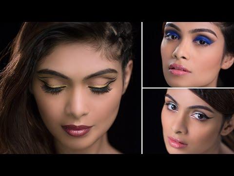 BEAUTIFUL Eye Makeup Looks with Pallavi Symons   Glamrs Makeup