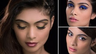 BEAUTIFUL Eye Makeup Looks with Pallavi Symons | Glamrs Makeup