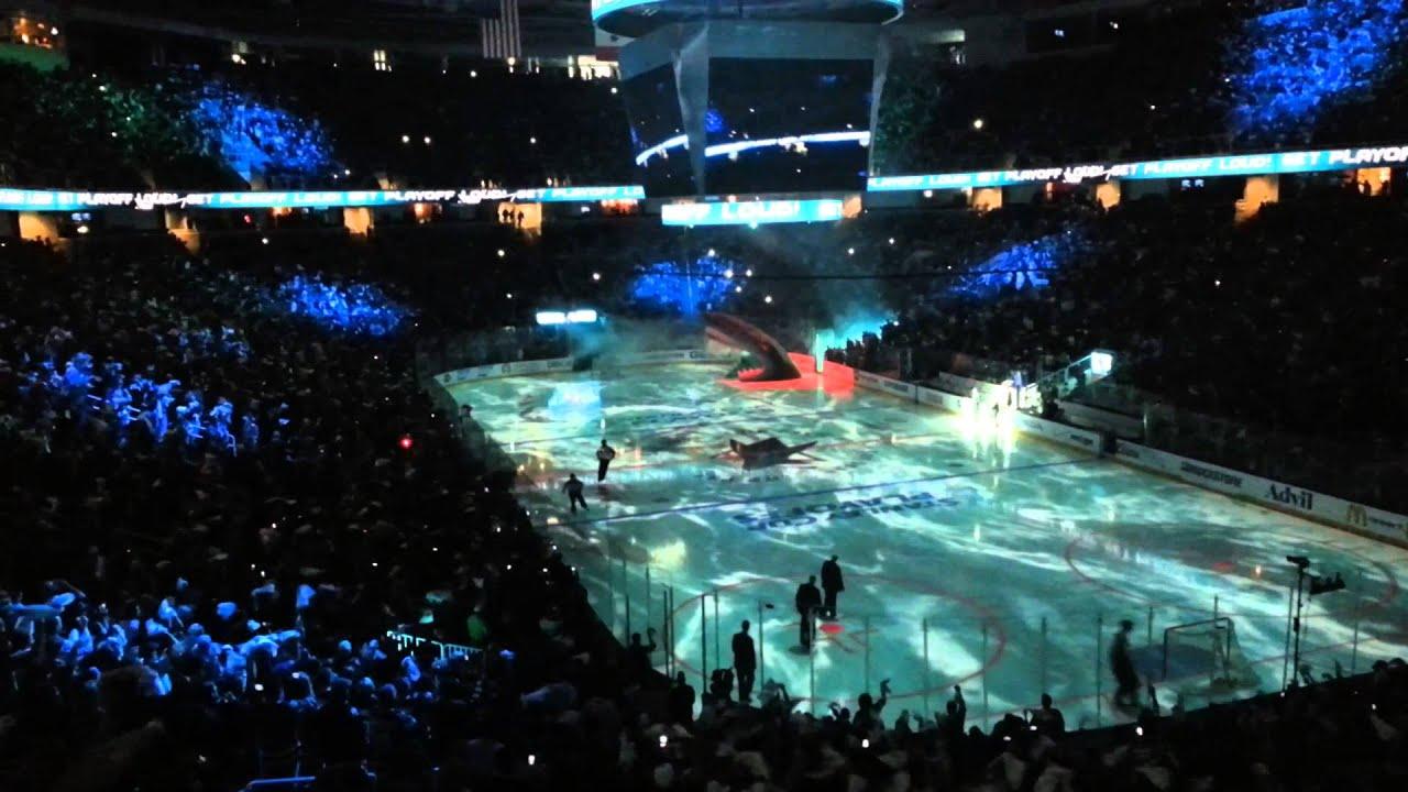Sharks Vs Kings Game 3 2013 Entrance Youtube