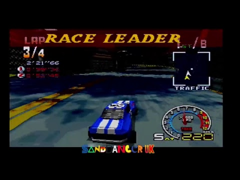 Burning Road Playstation 1 Gameplay