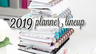 MY 2019 Planner LINEUP! How Many Planners Am I Using?? | At Home With Quita