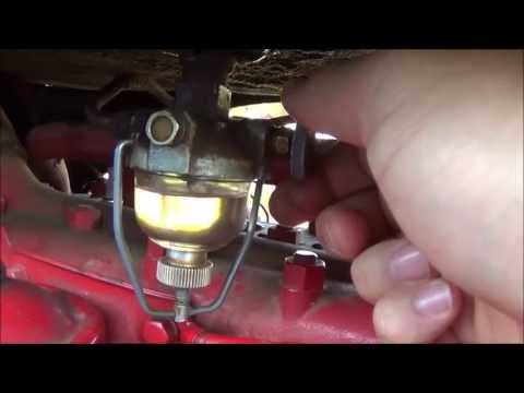 1940 9n Ford Tractor Wiring Diagram Mains Powered Smoke Alarm How To Replace A Sediment Bowl Glass Gas On 1949 8n