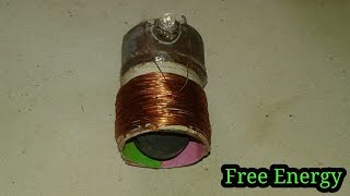 Free Energy Generator New 2018 use Magnet and cooper Wire