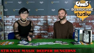 Lucca Comics & Games] Boardgame Studio: Strange Magic Deeper Dungeons