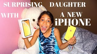 SURPRISING DAUGHTER WITH NEW iPHONE! | PRANK