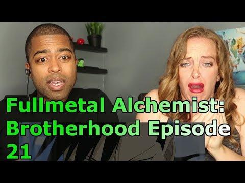 "Fullmetal Alchemist: Brotherhood Episode 21 "" Advance of the Fool "" (REACTION🔥)"