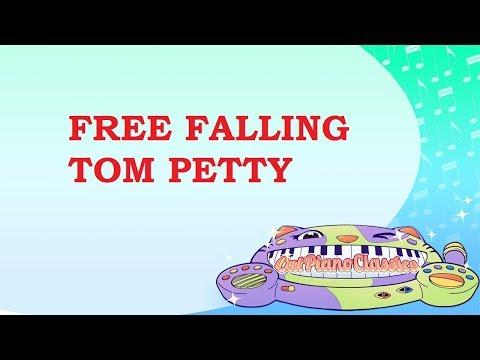 Free Fallin Cat Piano Tribute