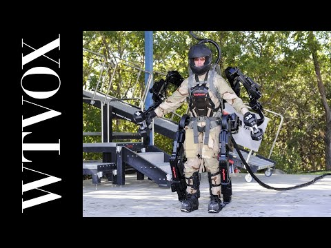 Future Solders - Raytheon Exoskeleton Army Robotics Suit