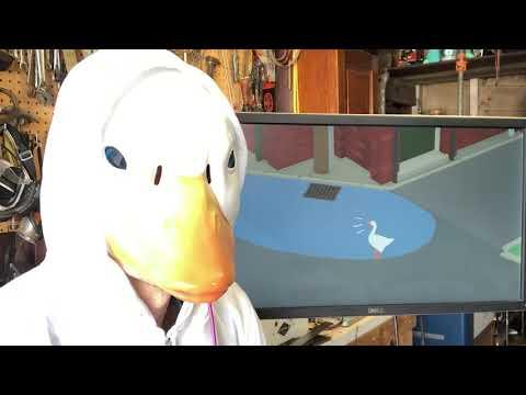 Goose Game M4SK Controller demo @adafruit @johnedgarpark #adafruit #goosegame