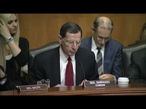 Barrasso: WOTUS Rule is Fundamentally Flawed and Must Be Withdrawn